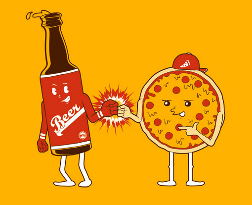 Beer & Pizza Day