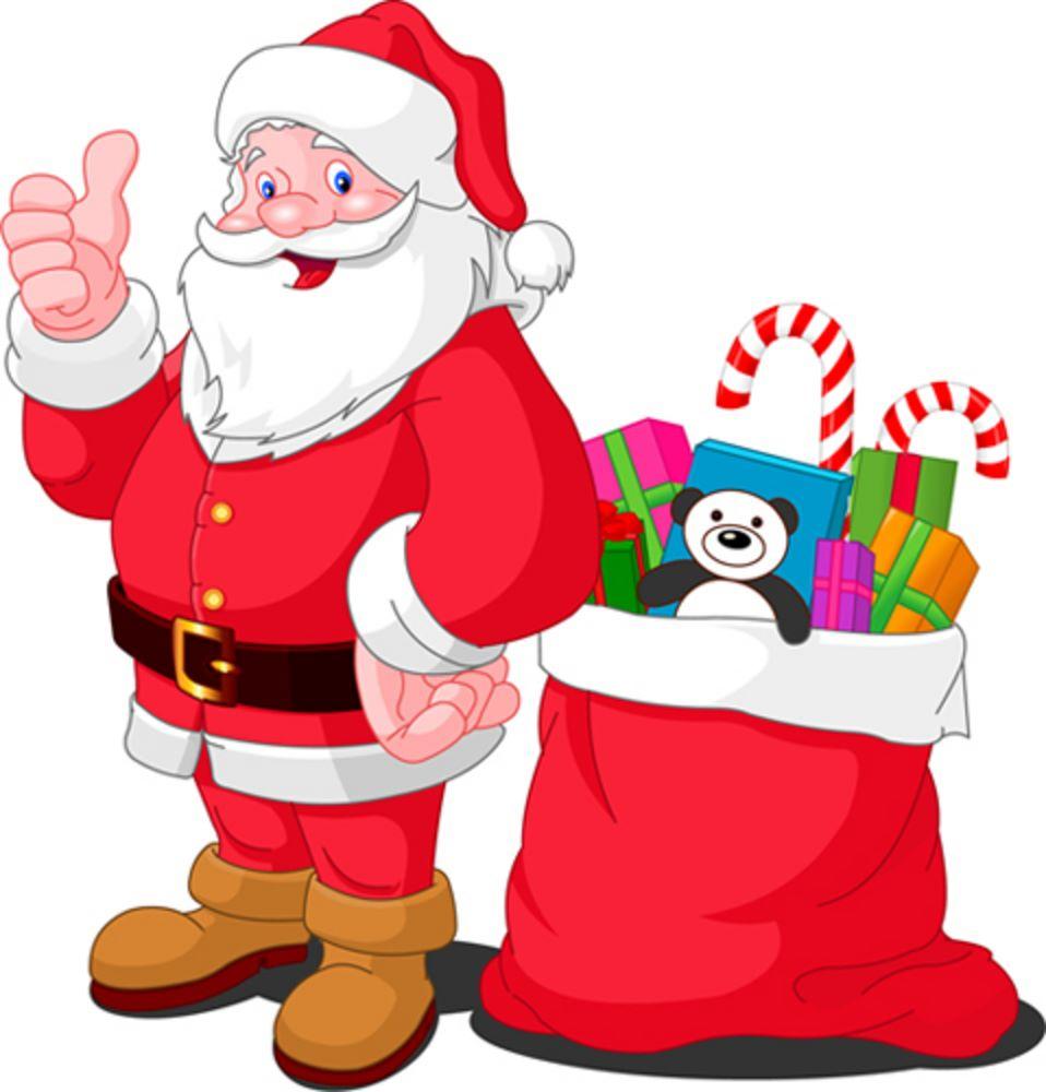 Draw The Santa Claus