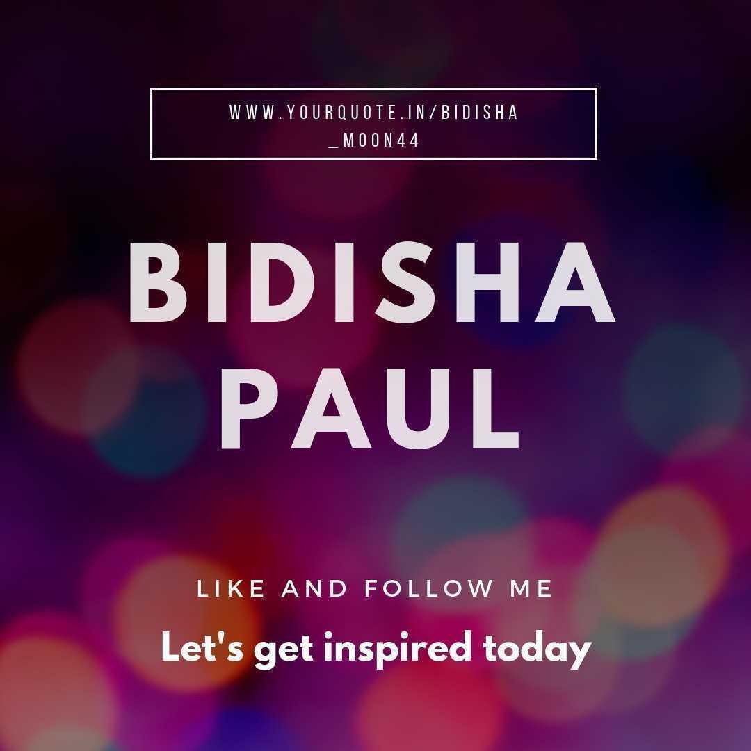Bidisha Paul  NOBODY CAN DRAG ME DOWN 👇🏻 🤘🏻 😎 ✌🏻 💟 #moon #loveswriting #gemini ❤️❤️❤️❤️
