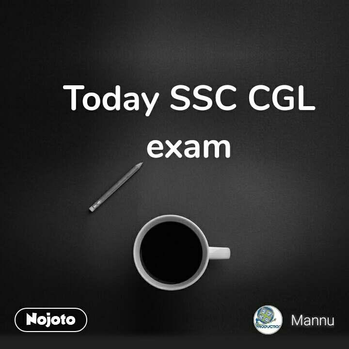 Today SSC CGL exam