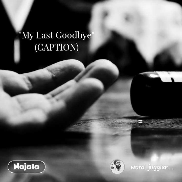 """My Last Goodbye"" (CAPTION)"