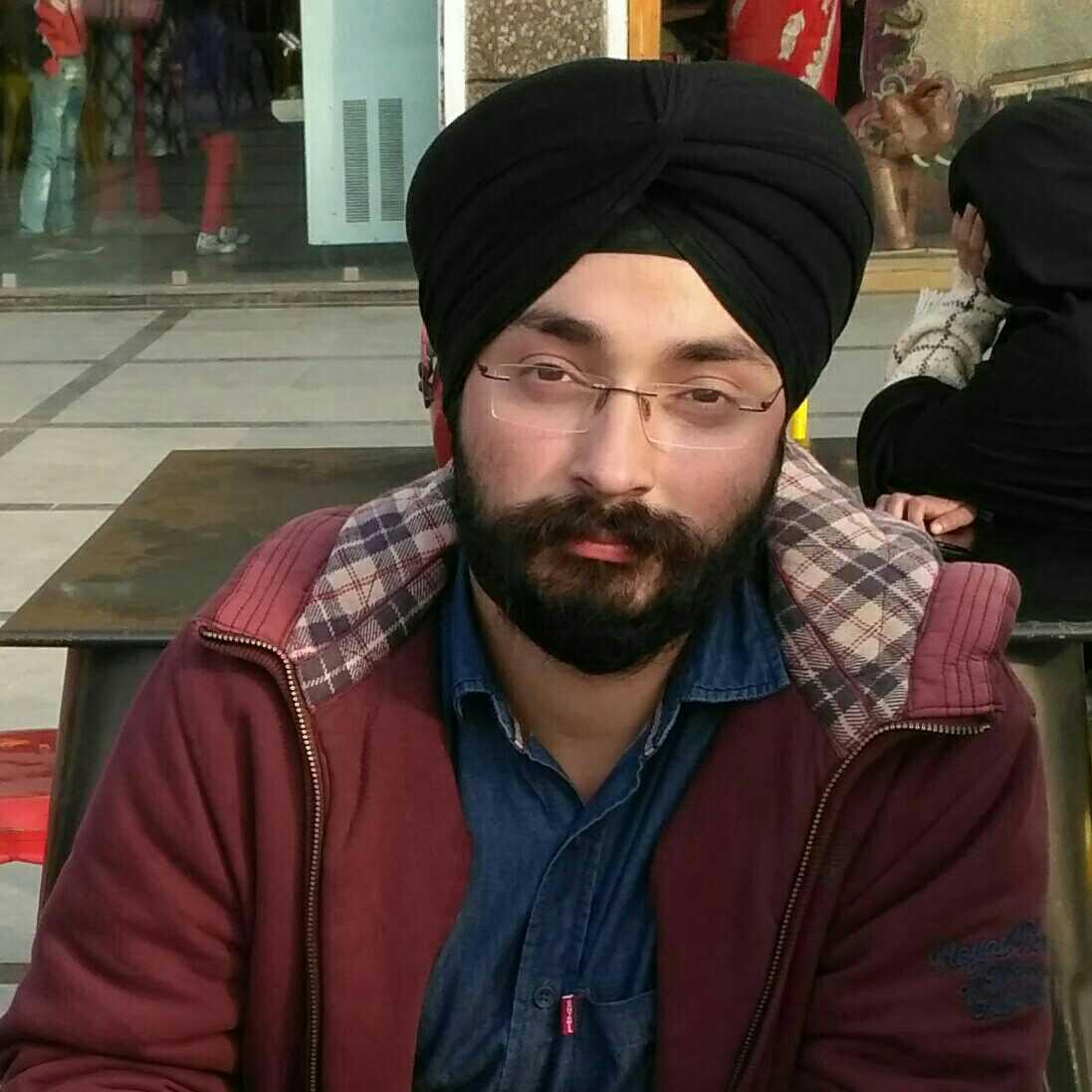 Jitender pal Singh unfortunately fortunate being....