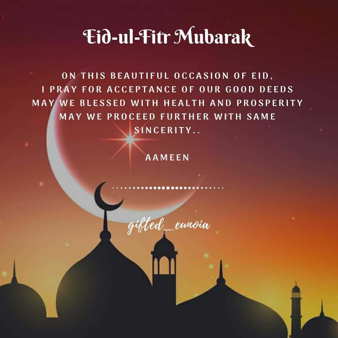 Eid Mubarak to one n all 💖 #Ramzan #eid #poetry #p