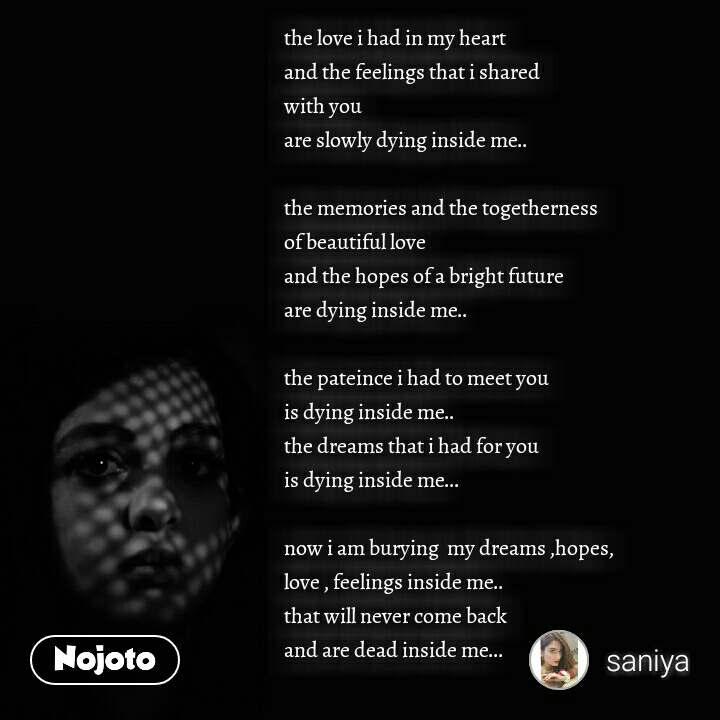 Best Killing Me Inside Quotes Stories Status Quotes Shayari Po