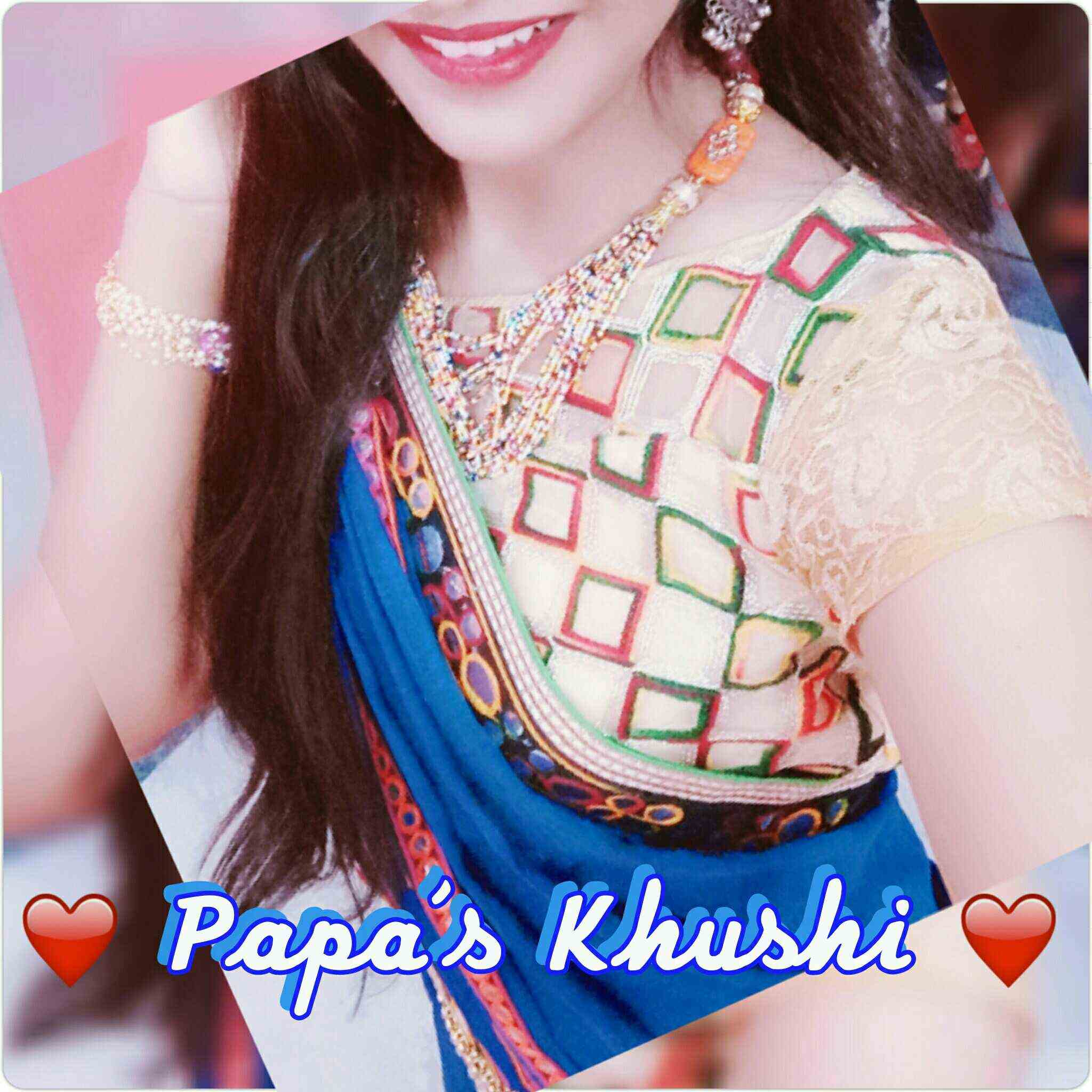 Miss Khushi Lakhesar  Papa ki Khushi hain...love photography nd write also chek out my 2nd id for quotes(link👇)