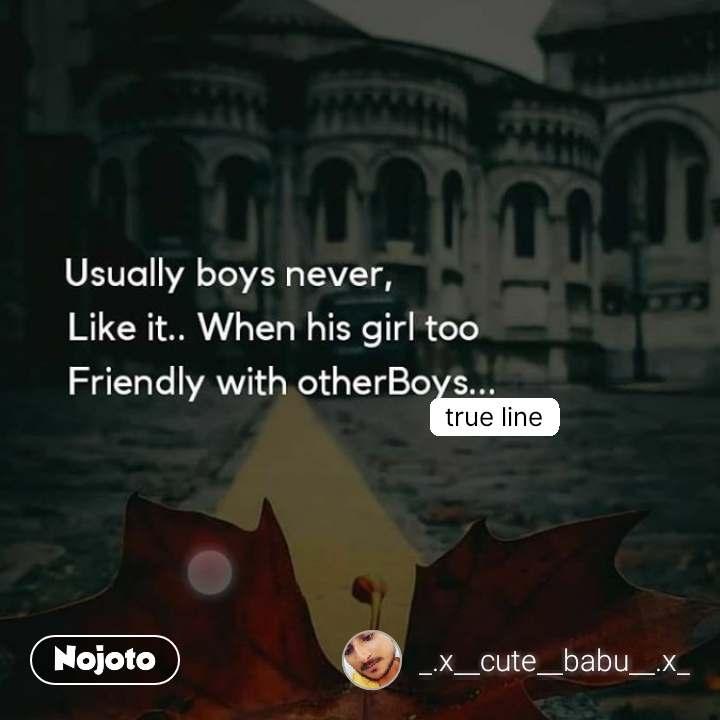 true line #NojotoQuote