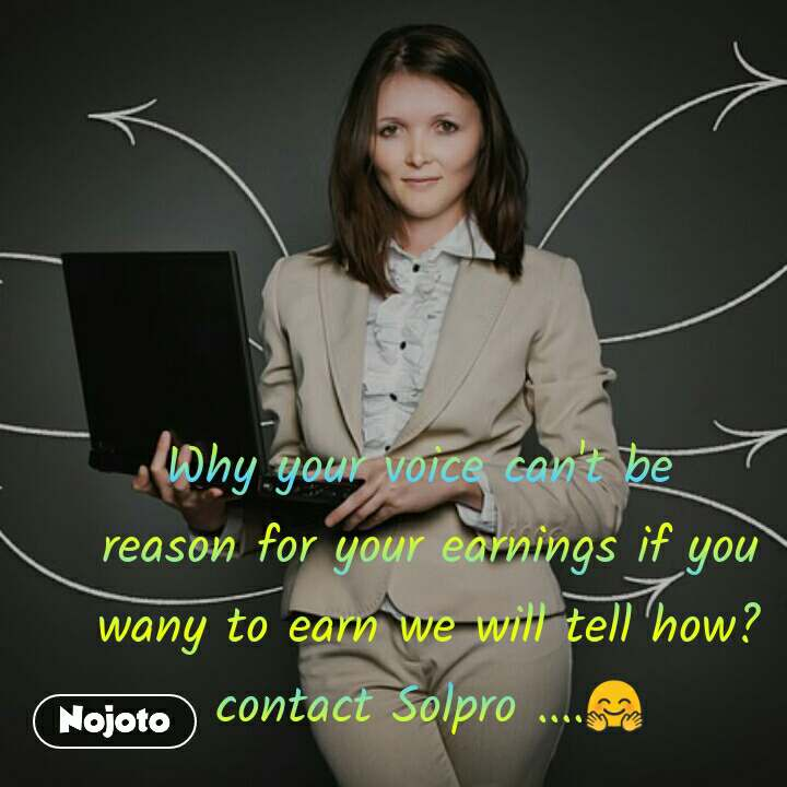 #DearZindagi Why your voice can't be  reason for your earnings if you wany to earn we will tell how? contact Solpro ....🤗