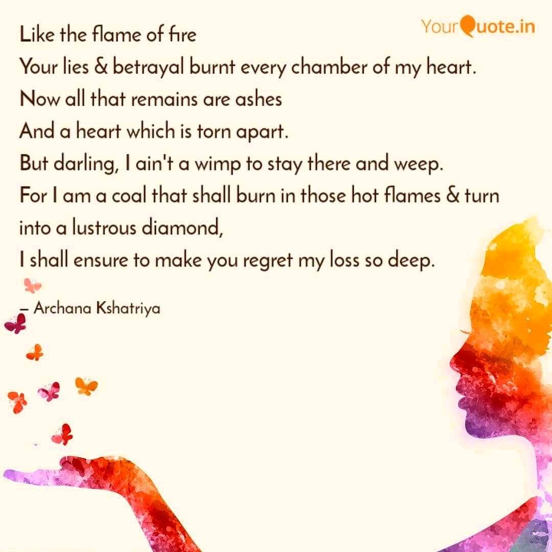 Flame Of Fire Quotes Shayari Story Poem Jokes Memes On Nojoto