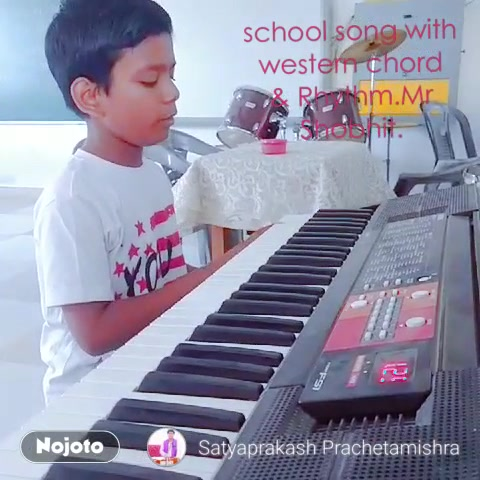 school song with western chord & Rhythm.Mr Shobhit.