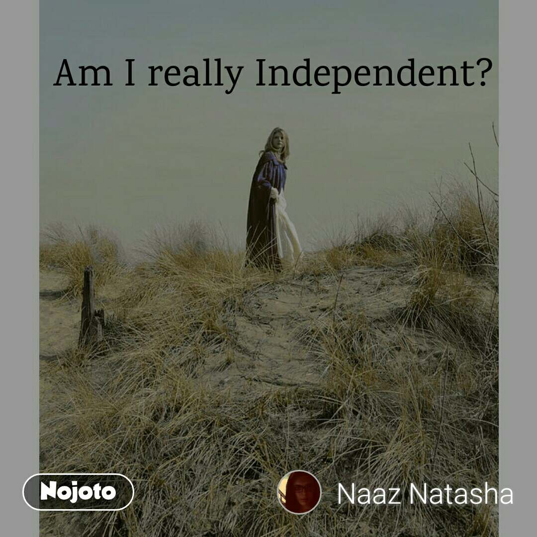 poems about being independent
