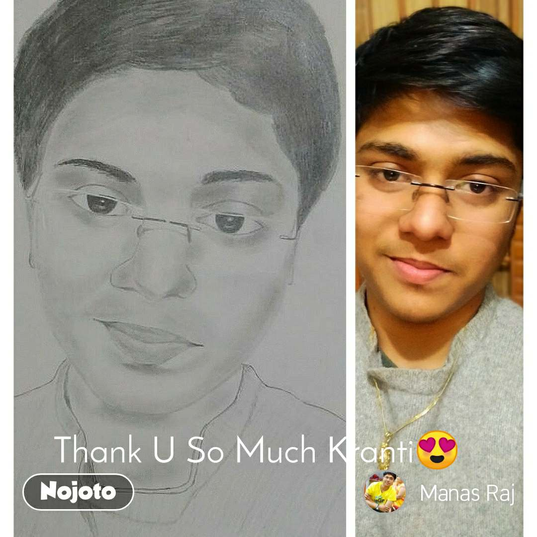 Thank U So Much Kranti😍