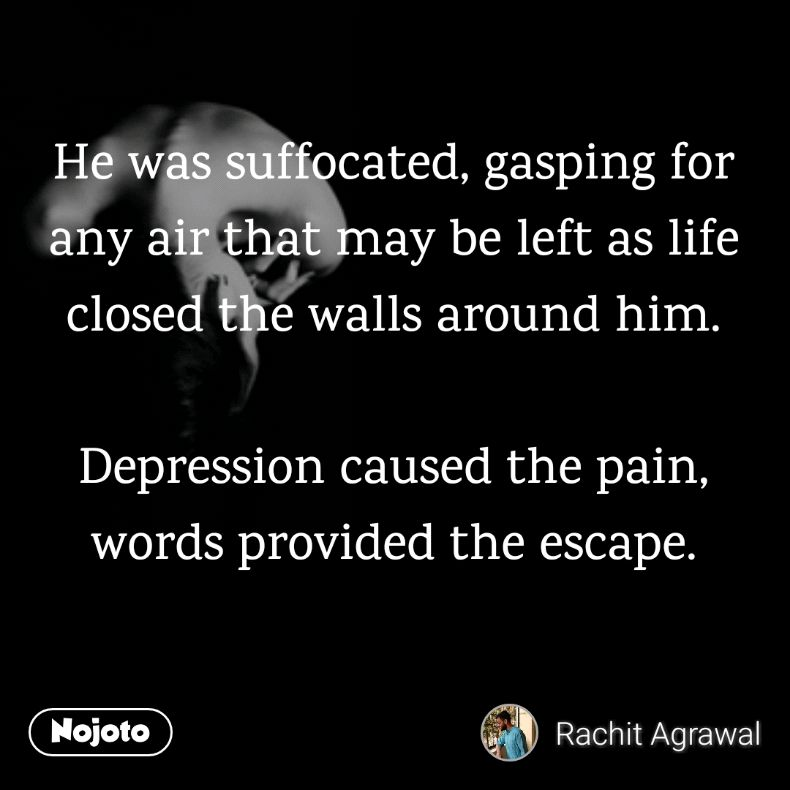 Sad Quotes About Love: #love #life #depression #quote #pain #nojoto Quotes