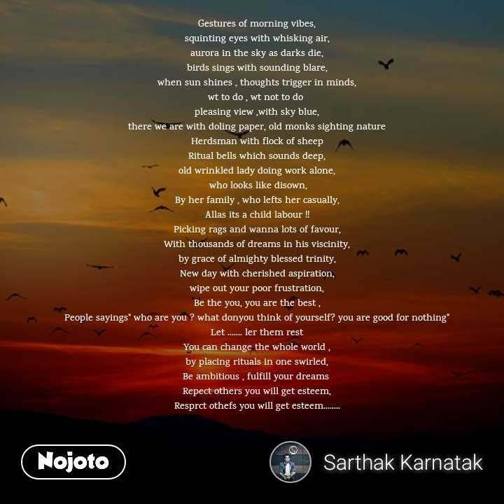 Gestures Of Morning Vibes Quotes Shayari Story Poem Jokes Me