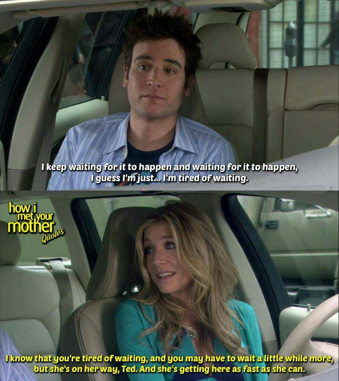 how i met your mother    #himym #love | Nojoto