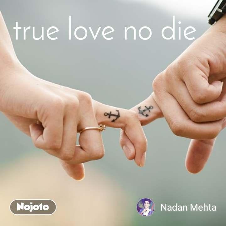true love no die