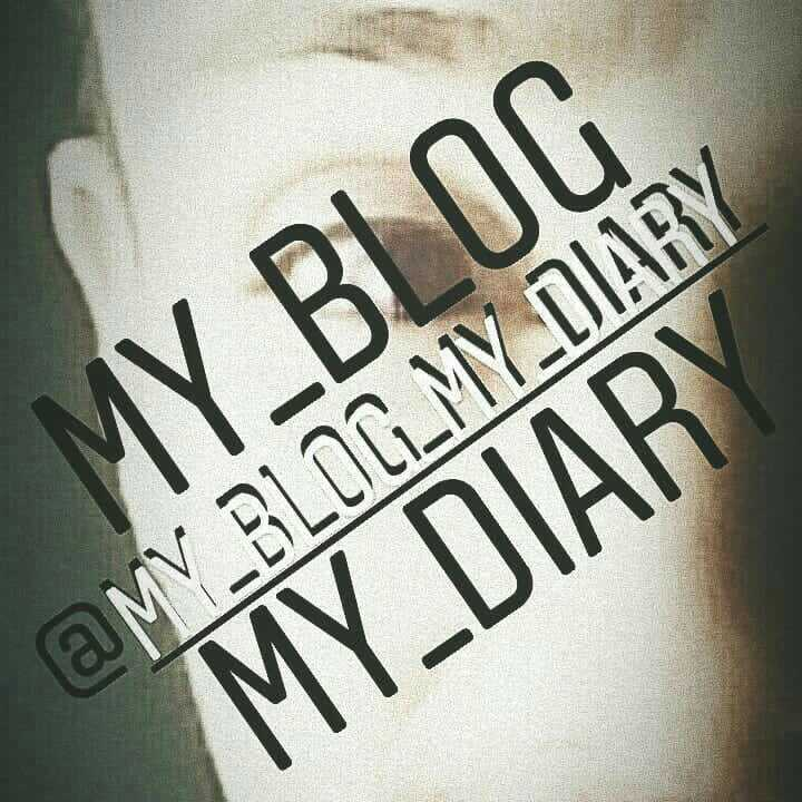 my blog my diary insta official..