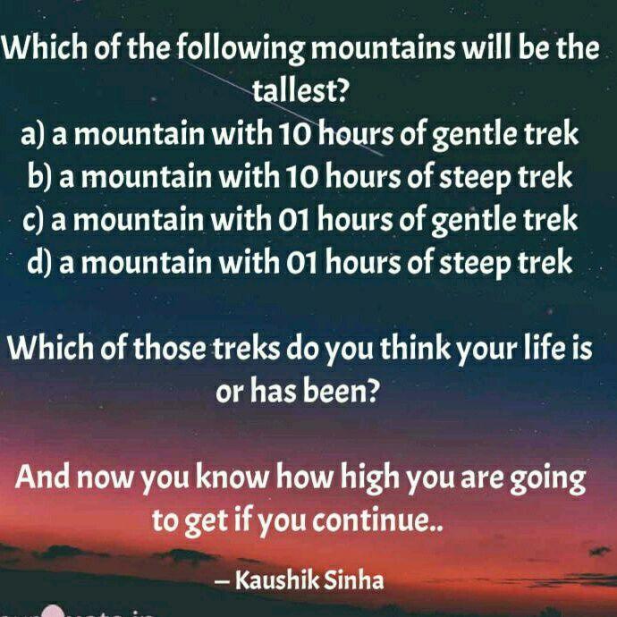 weak #strong #mountain #climb #steep #hard #easy | English