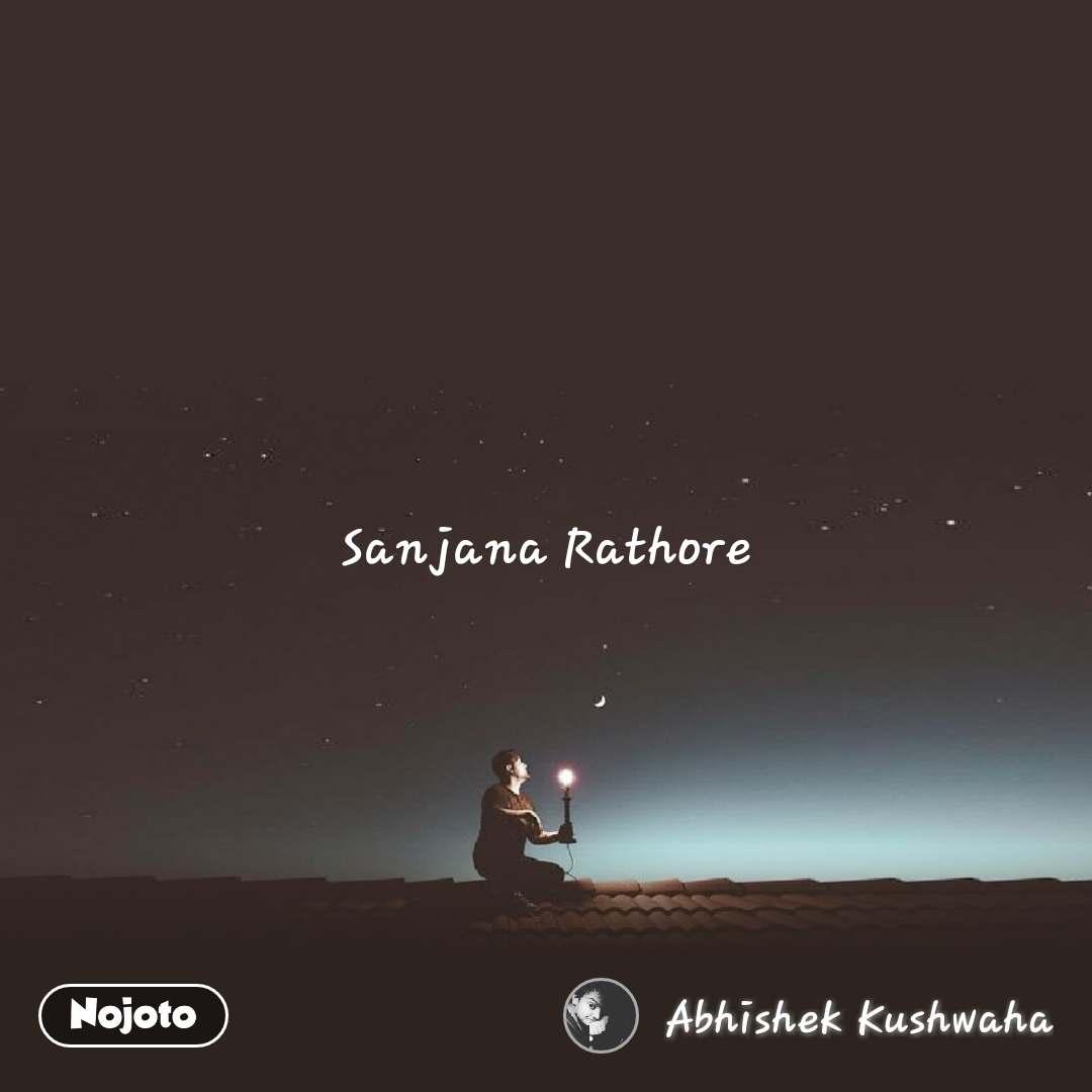 Sanjana Rathore