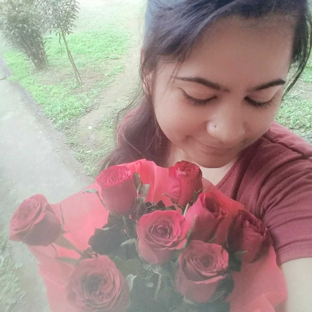 Kirti Pandey m not a poet.. but my emotions comes out like poem.😉