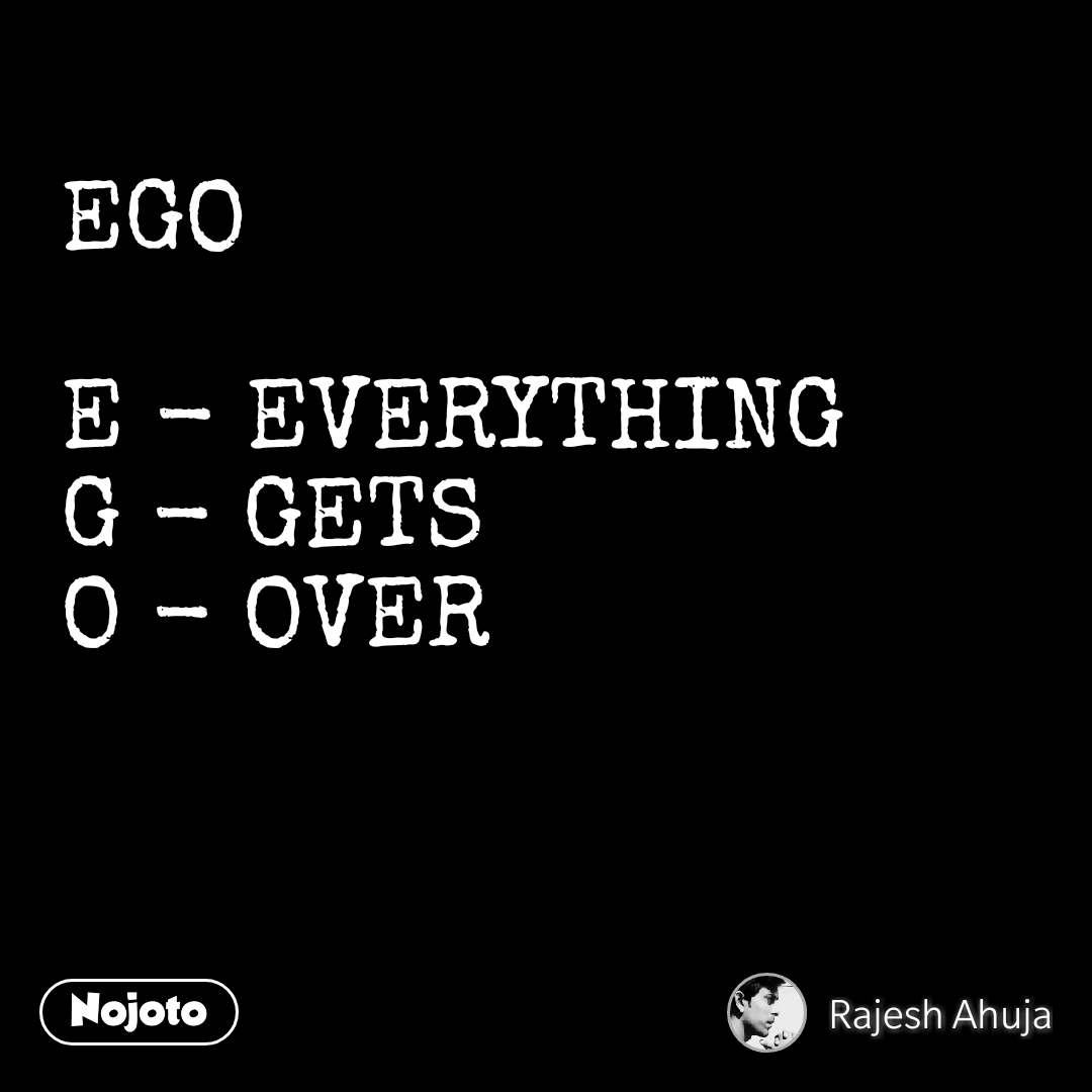 Fir Nojoto Nojotonews Nojotofun Love Ego Firstquote Quote