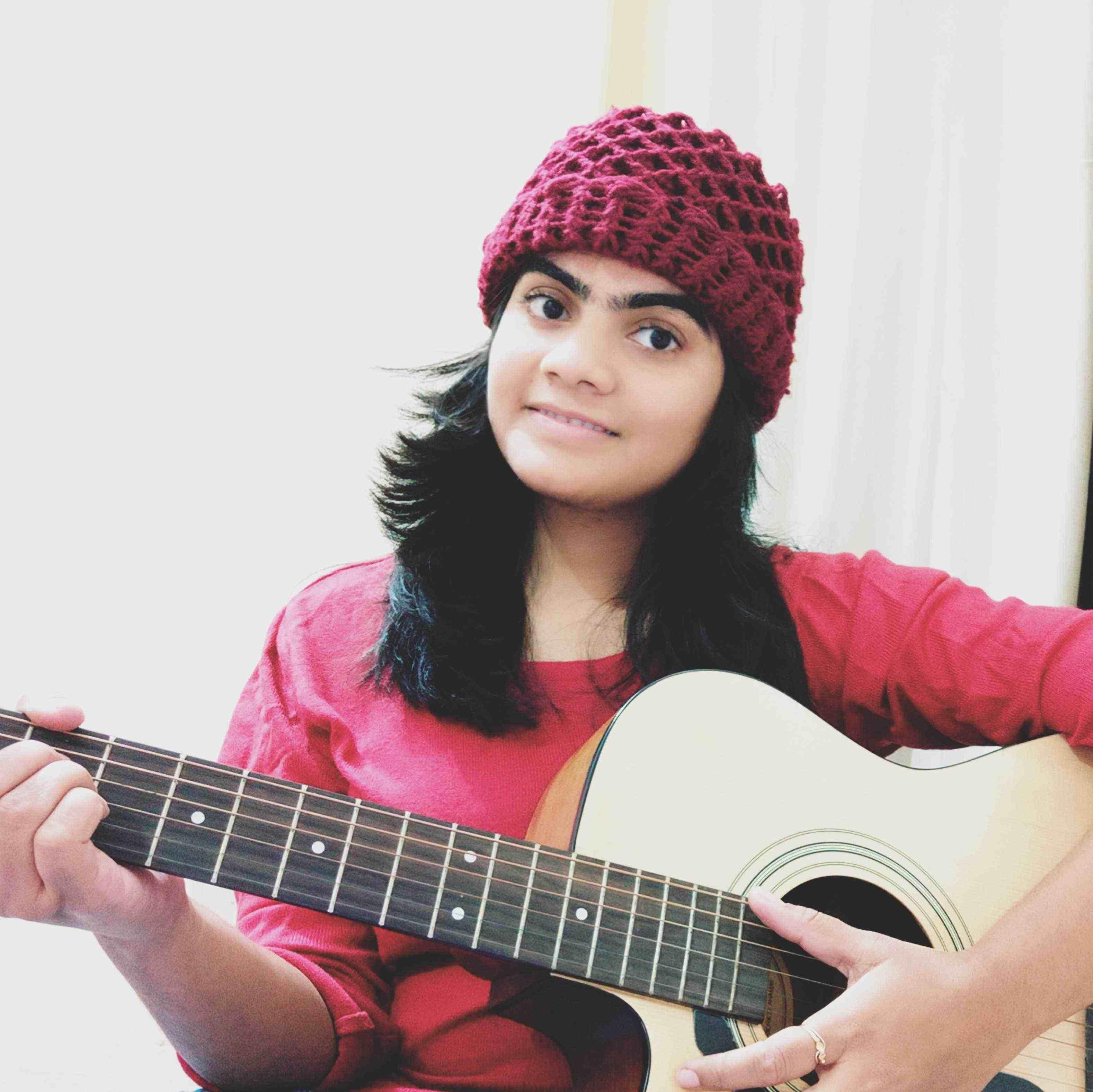 Pooja pal Engineer as well as guitarist...🎸