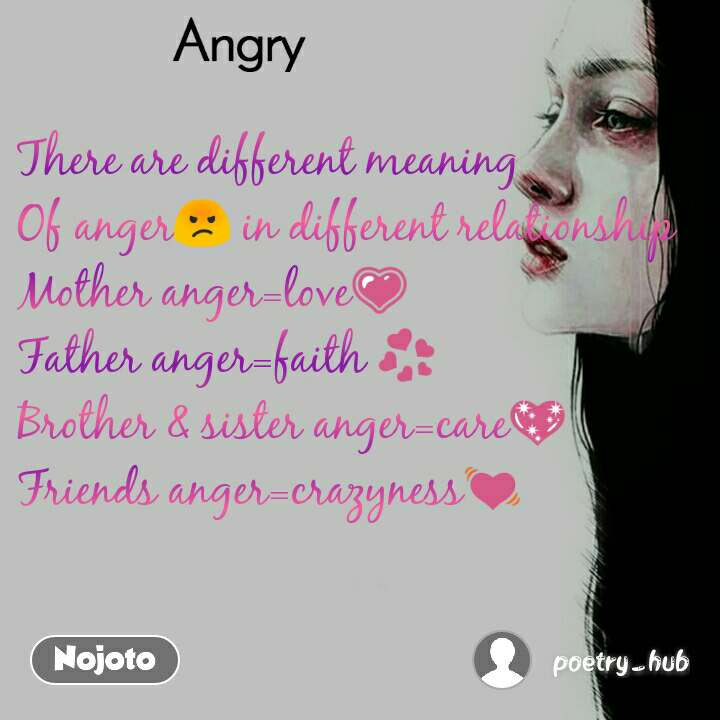 There are different meaning Of anger😡 in differen | English