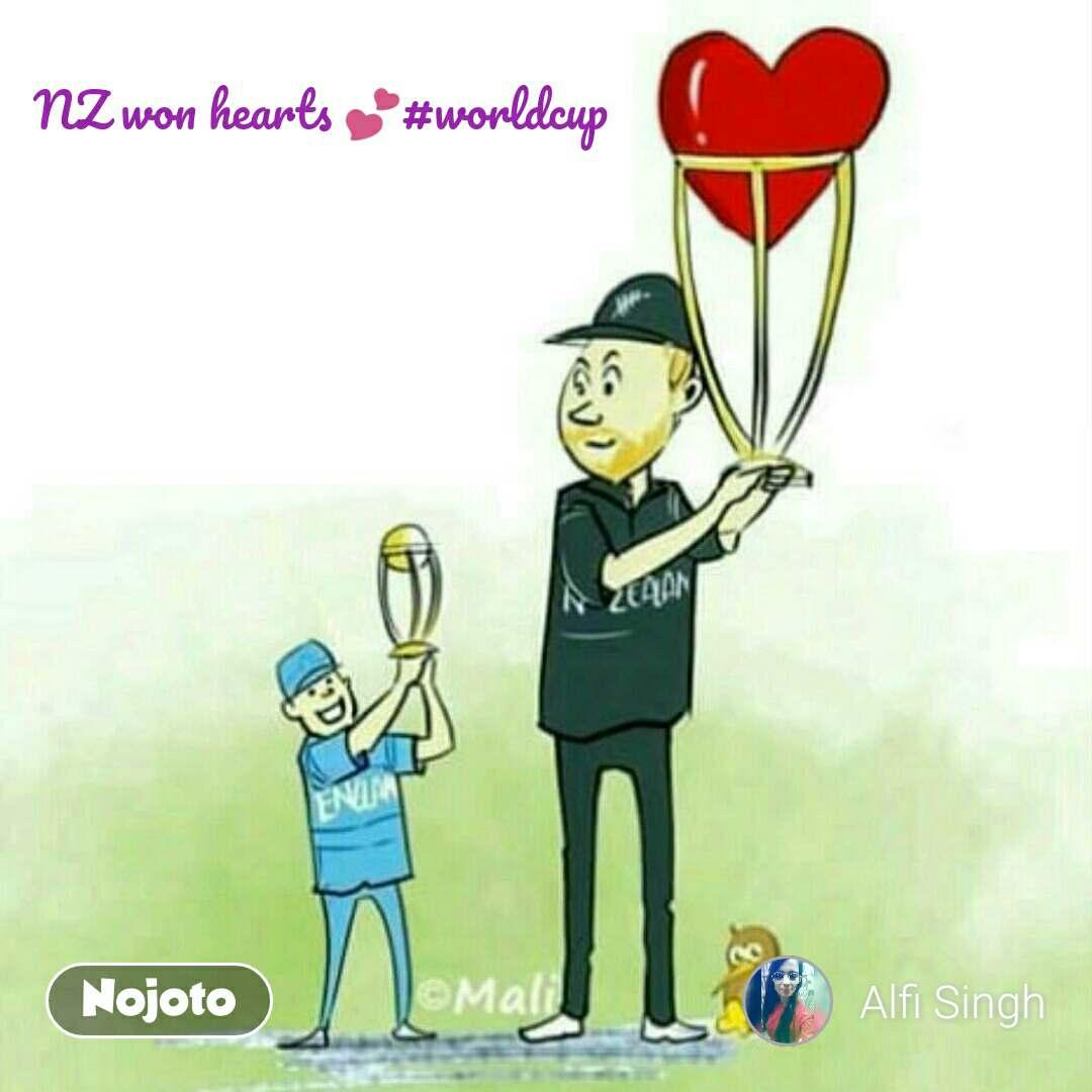 NZ won hearts 💕#worldcup