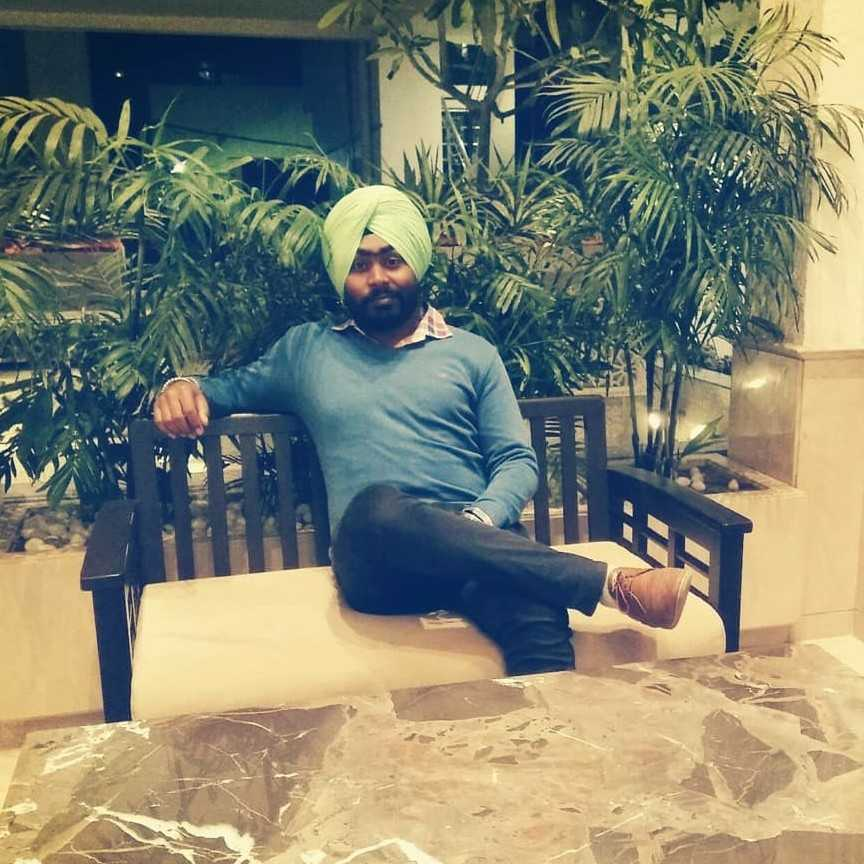 """Avtar Singh """"nothing just writing about my pain given by her"""""""