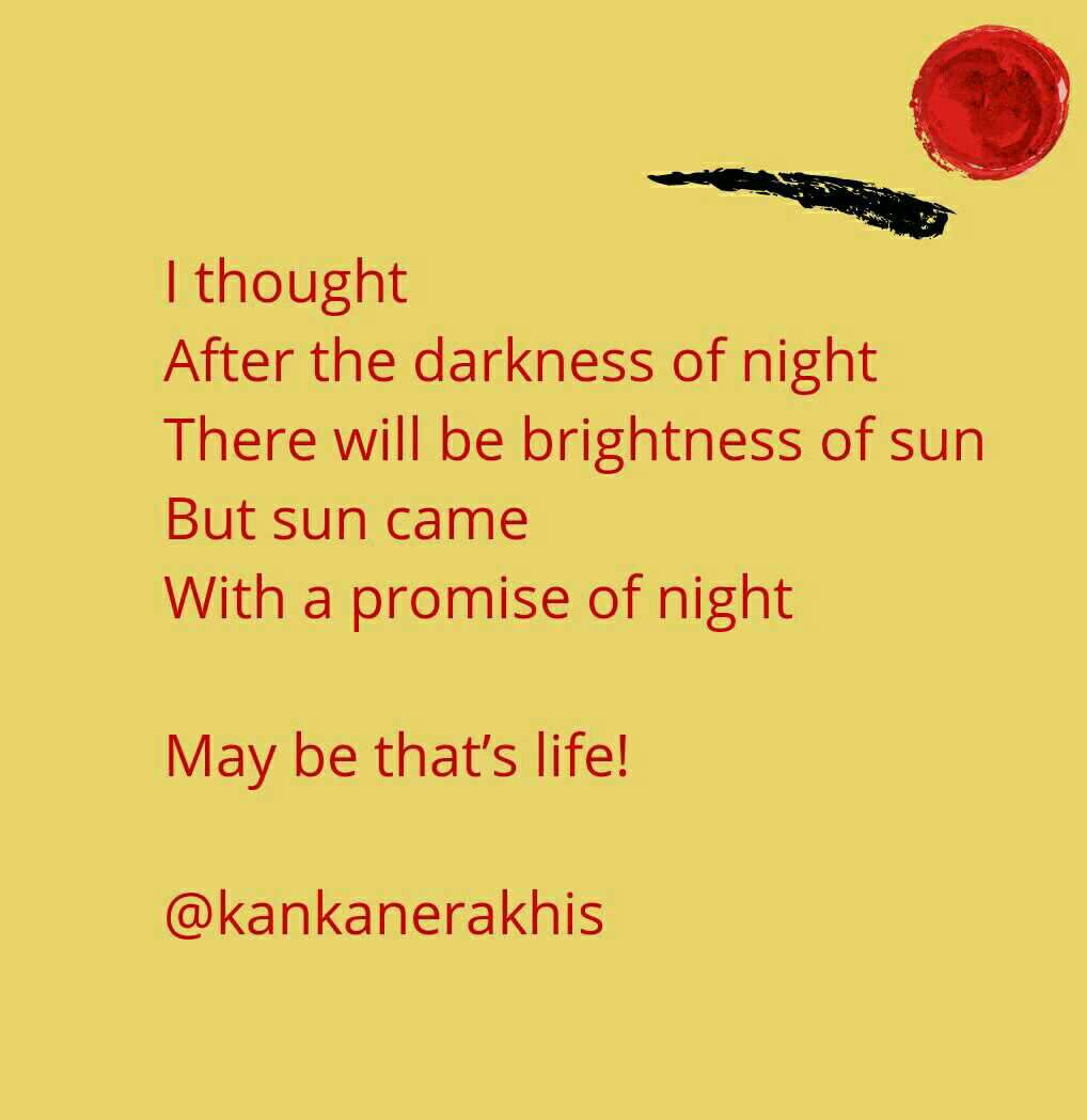 Night Darkness Sun Promises Relationships Lifequotes