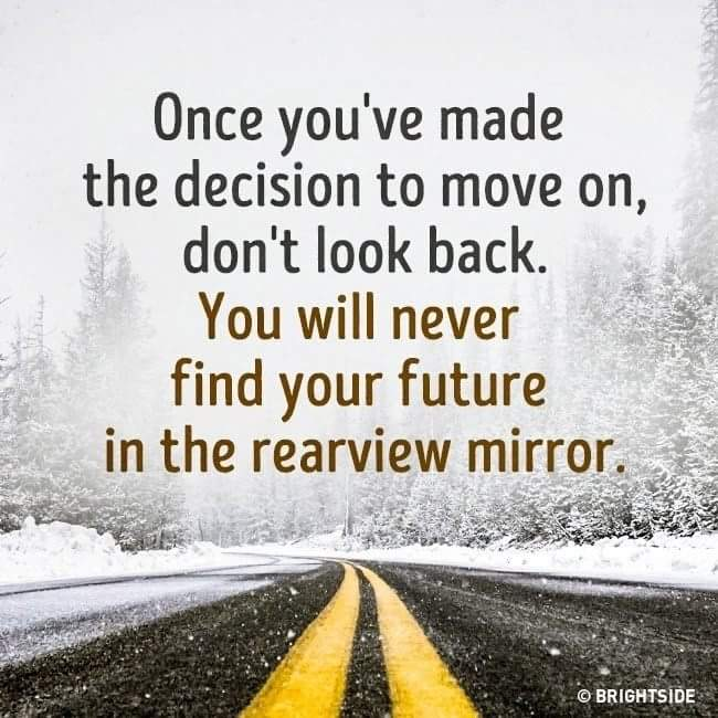 You Will Never Find Your Future In Rearview Mirror Quotes Shayari